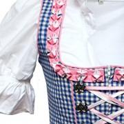 Alpenmrchen-3tlg-Dirndl-Set-Trachtenkleid-Bluse-Schrze-Gr32-46-trkis-fuchsia-0-1